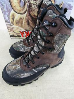 ROCKY 4754 LACE UP INSULATED MENS SIZE 9.5M HUNTING BOOT