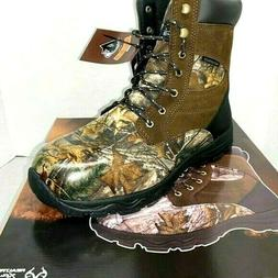 "Herman Survivors 8"" Men's Realtree Camo Waterproof Hunting B"