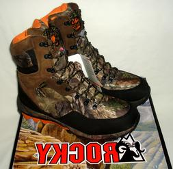 9 WIDE men's ROCKY ATHLETIC MOBILITY Hunting Boots Waterproo