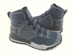 UNDER ARMOUR Boots Hiking Hunting Blue Gray 1299433 Newell R