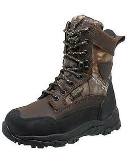 boys waterproof hunting boot round toe 4648