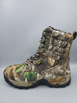 Camo Hunting Boots Men's 600g Insulate Size US 8 TideWe