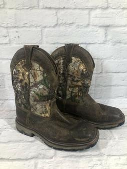 ARIAT Conquest Thinsulate Waterproof Leather Hunting Boots M