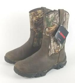Wolverine Coyote XTR Insulated Leather Hunting Boots Brown C