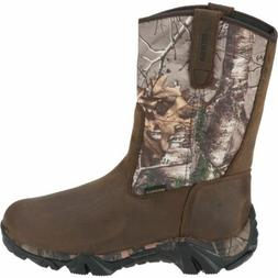 Wolverine Coyote XTR Insulated Leather Hunting Boots Extra W