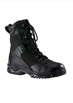 """Rothco Forced Entry Black 8"""" WATERPROOF Tactical Boot"""