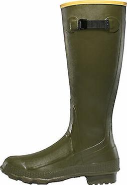 Lacrosse Grange Mens Green Rubber 18in Hunting Boots