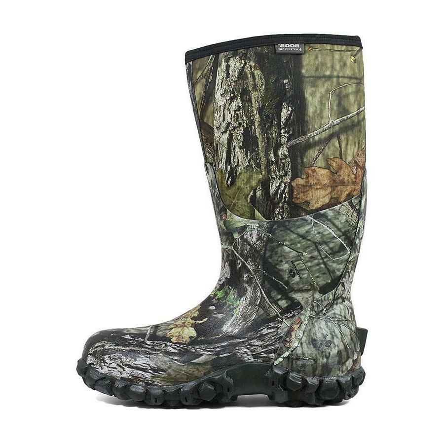 """BOGS 60542 Men's Classic High Mossy 14"""" Waterproof Hunting Boots Shoes"""