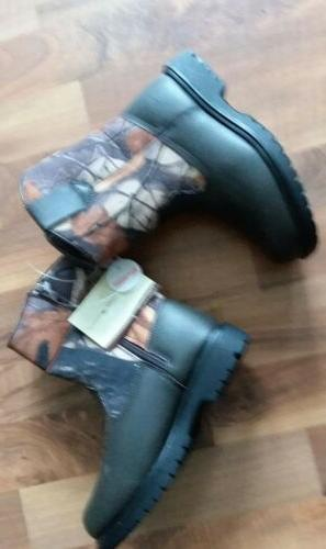 boys size 13 deer stag boots outdoor