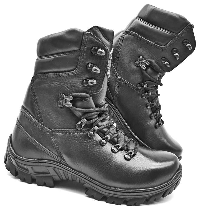 HUNTING BOOTS MENS MILITARY ARMY TACTICAL COMBAT GENUINE BLA