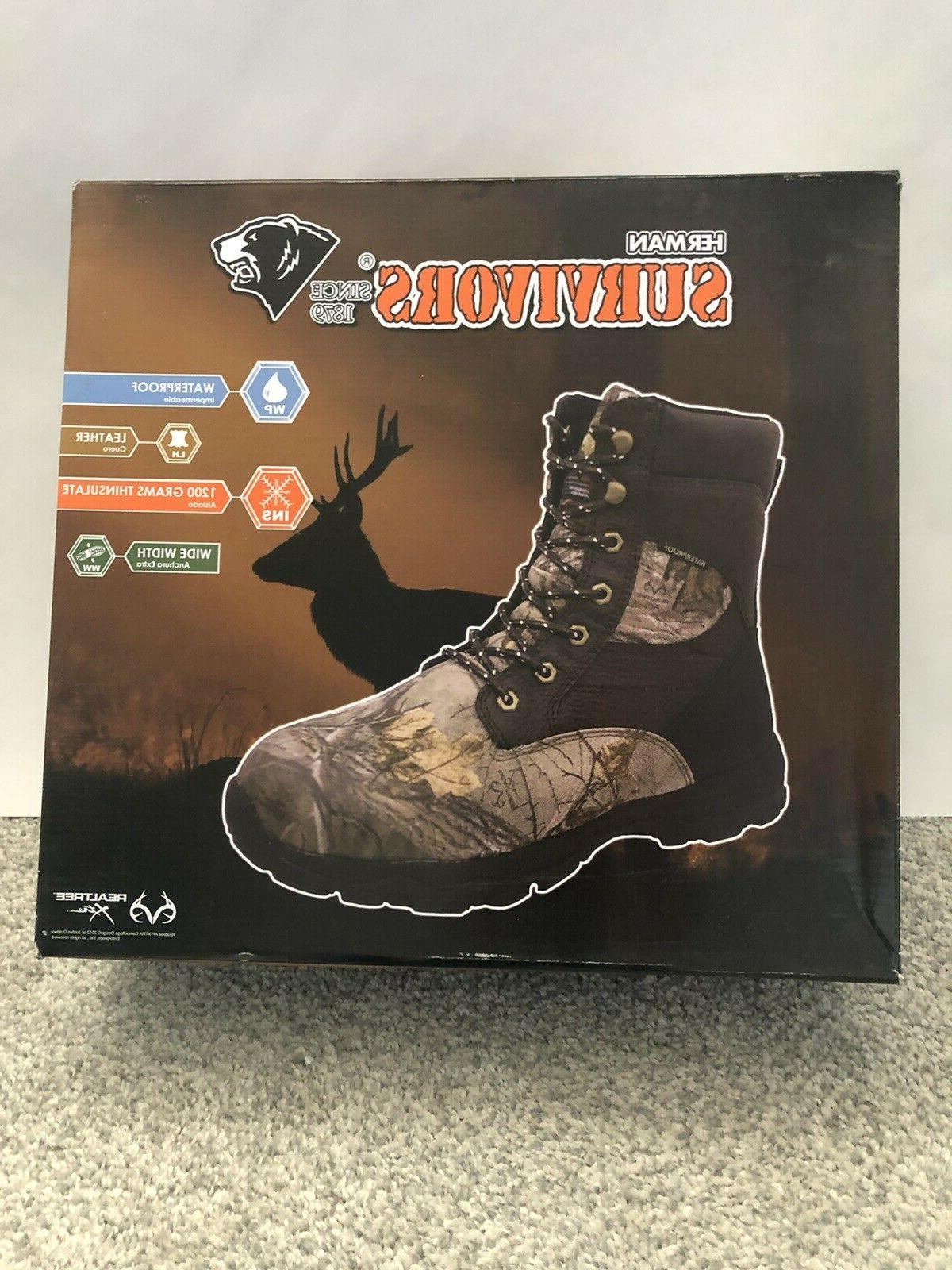 Thinsulate Camo Boots Pick Size