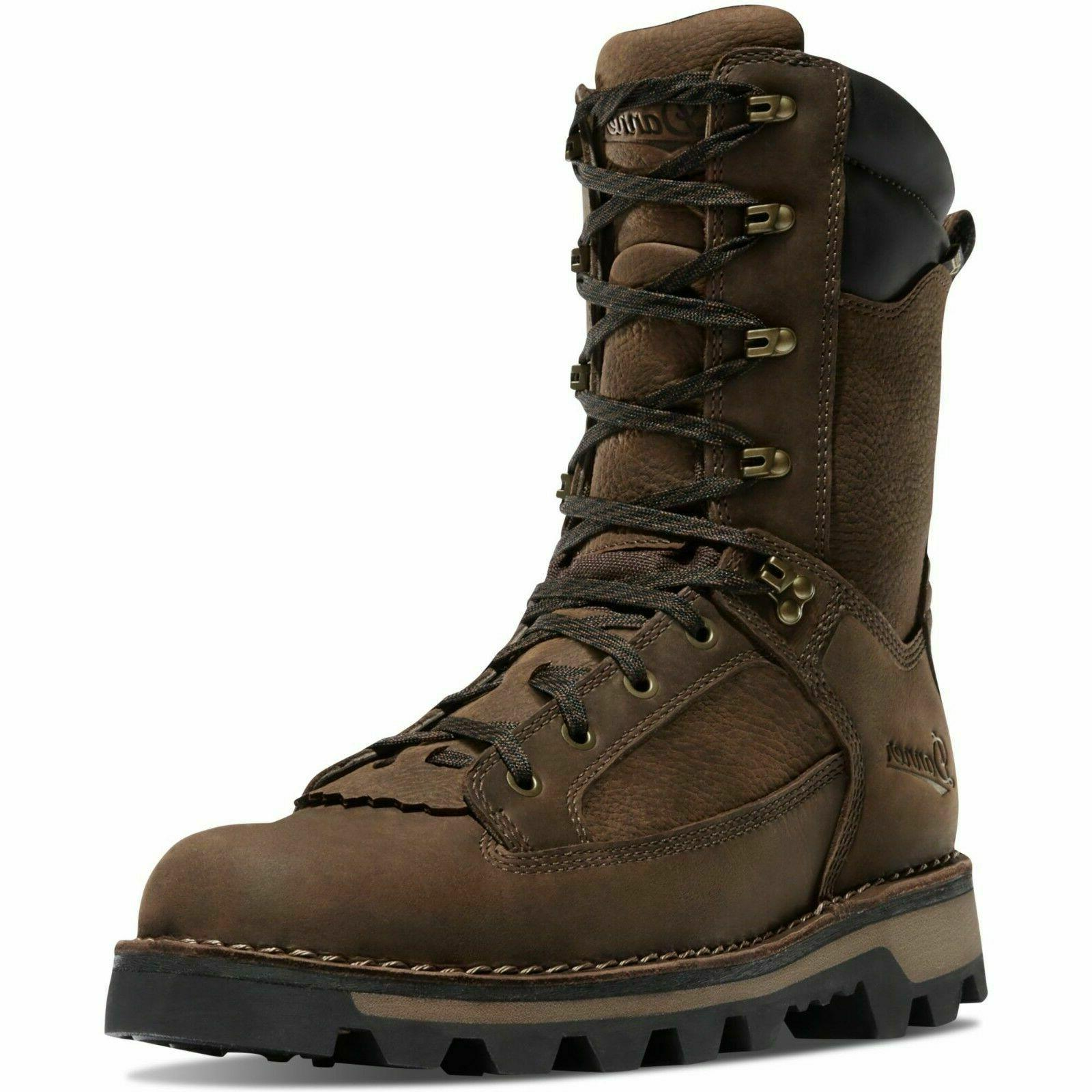"Danner Men's 43143 Powderhorn 10"" Brown 400G Insulated Water"