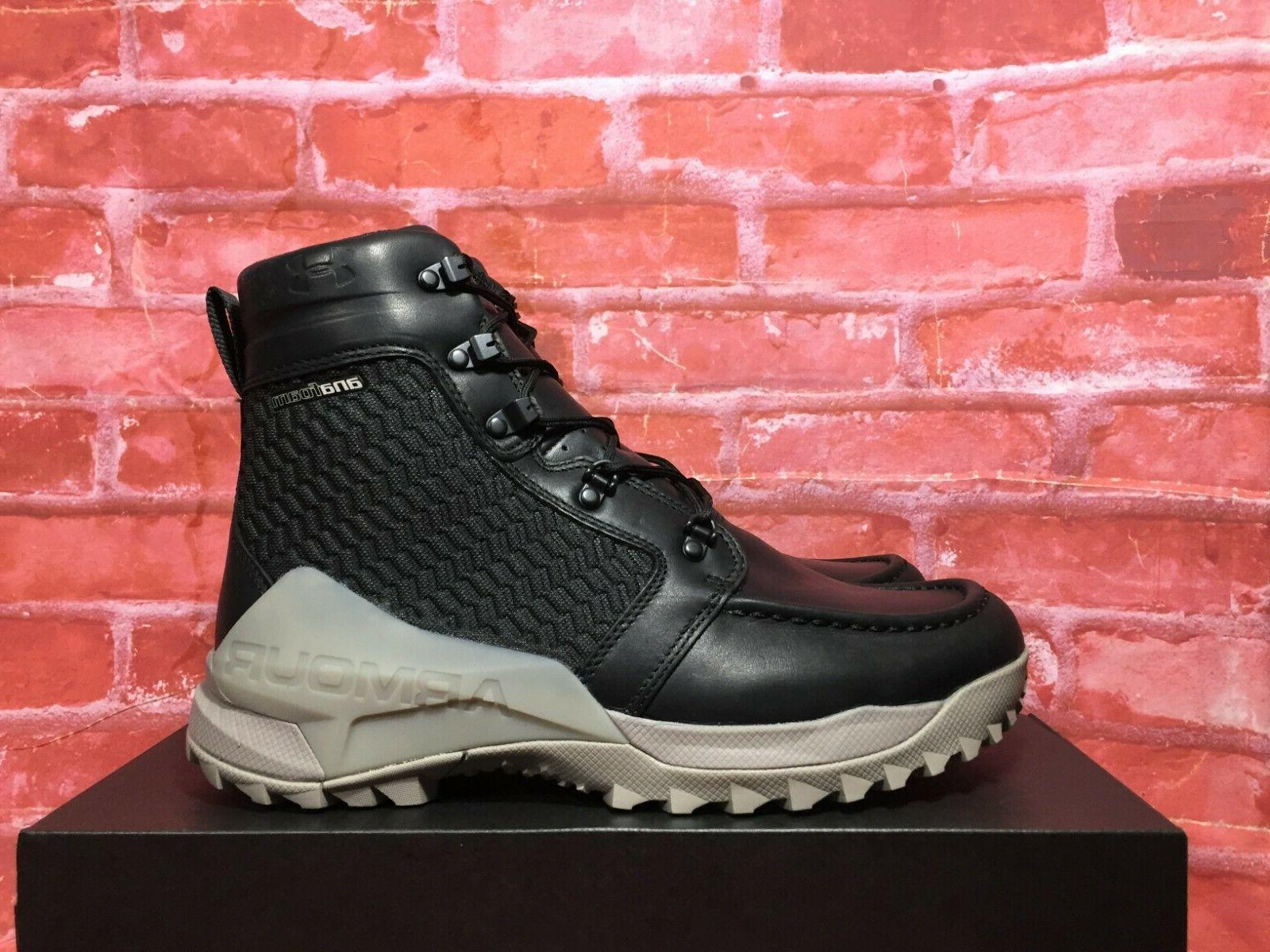 UNDER OPS HUNTING LEATHER BLACK SIZES 1299231