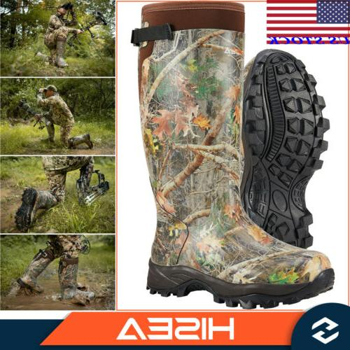 men s hunting boots camo waterproof insulated
