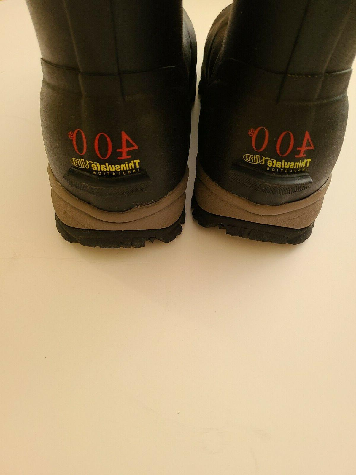 TideWe Boots Size 14 Waterproof Insulated