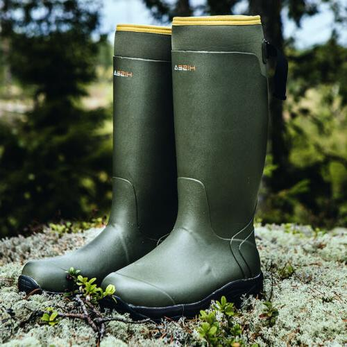 HISEA Boots Waterproof & Insulated Rubber