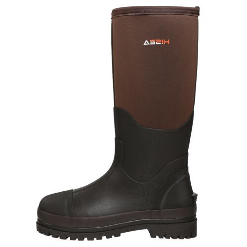 HISEA Men's Muck Boots Snow Hunting Working