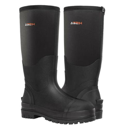 HISEA Men's Work Boots Insulated Breathable Hunting