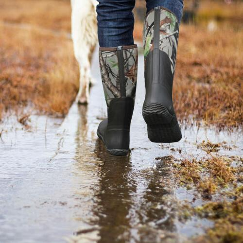 Hunting Boots Waterproof Insulated Muck Mud