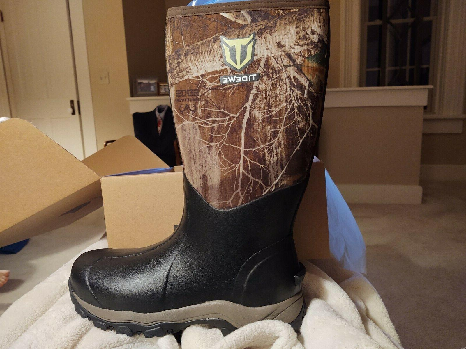 men s size 12 hunting boots new
