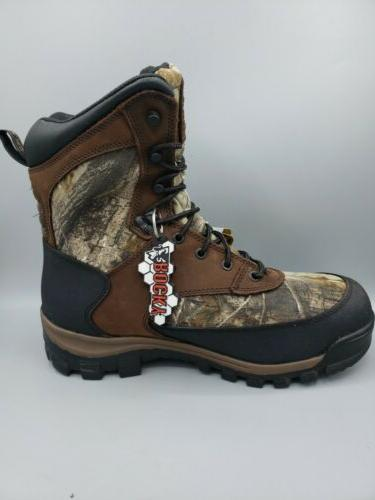Rocky Men's Waterproof Thinsulate Ultra Hunting Boots Size US W