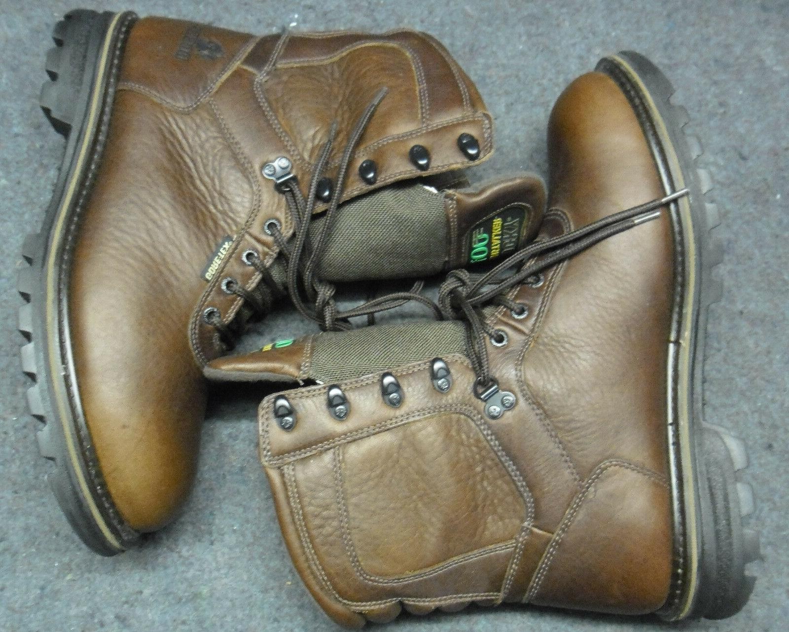 Mens Cornstalker Gore-Tex Brown Hunting Boot