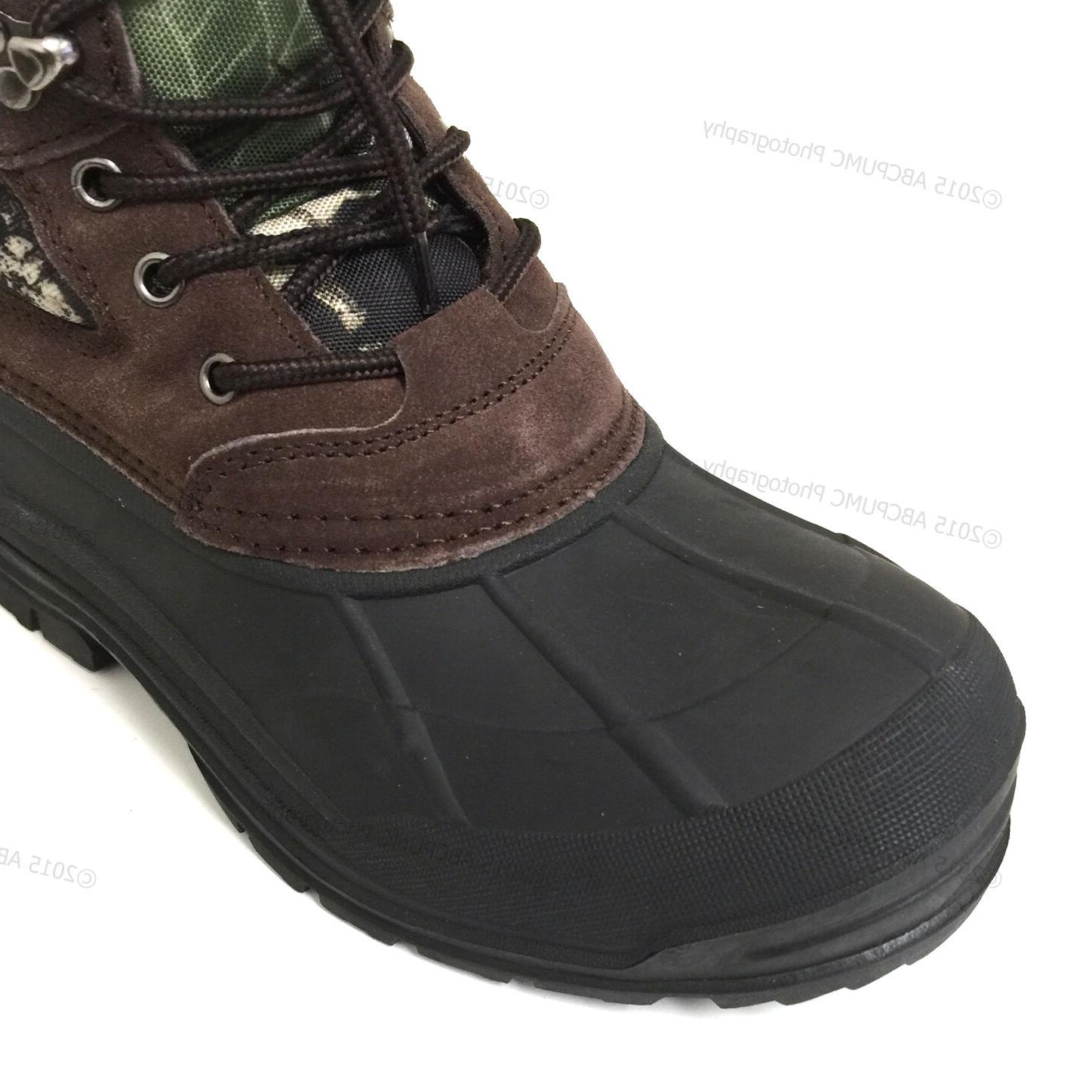 New Boots Camouflage Leather Waterproof
