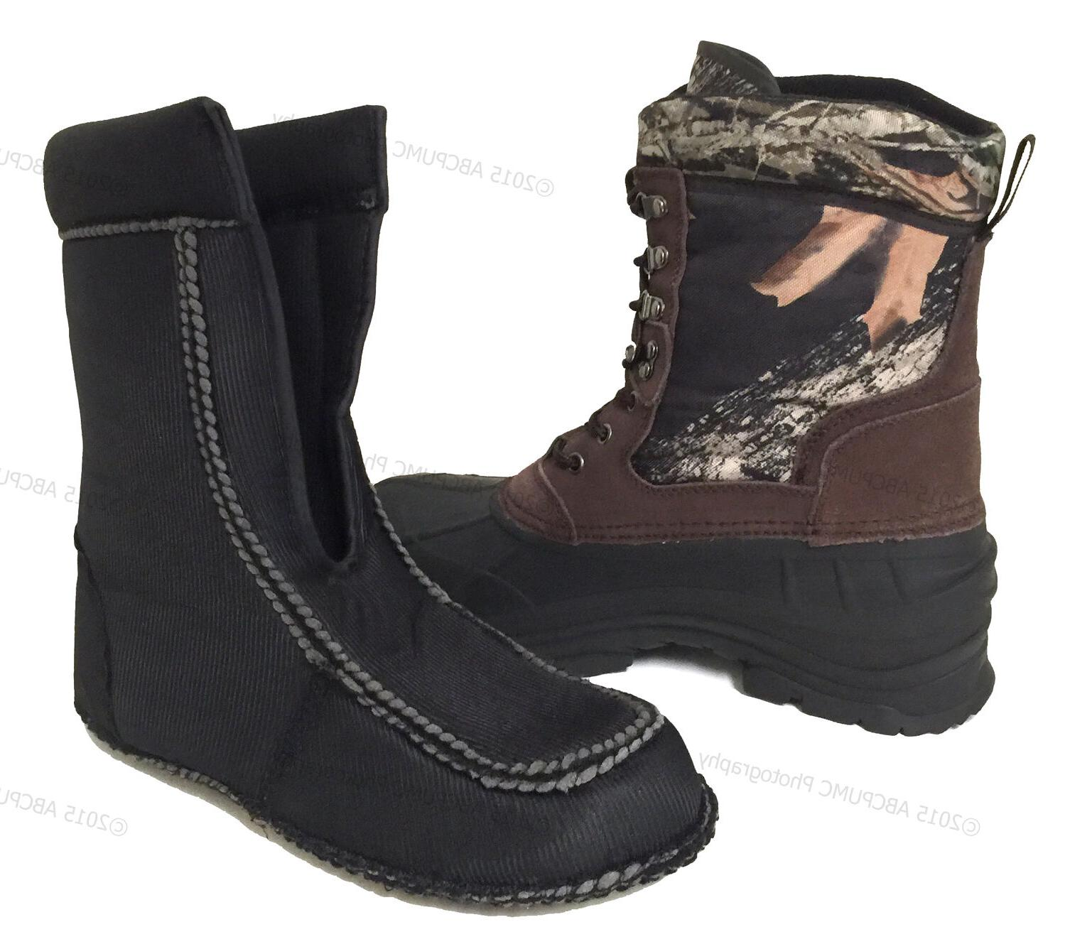 New Boots Camouflage Leather Waterproof Insulated Hunting