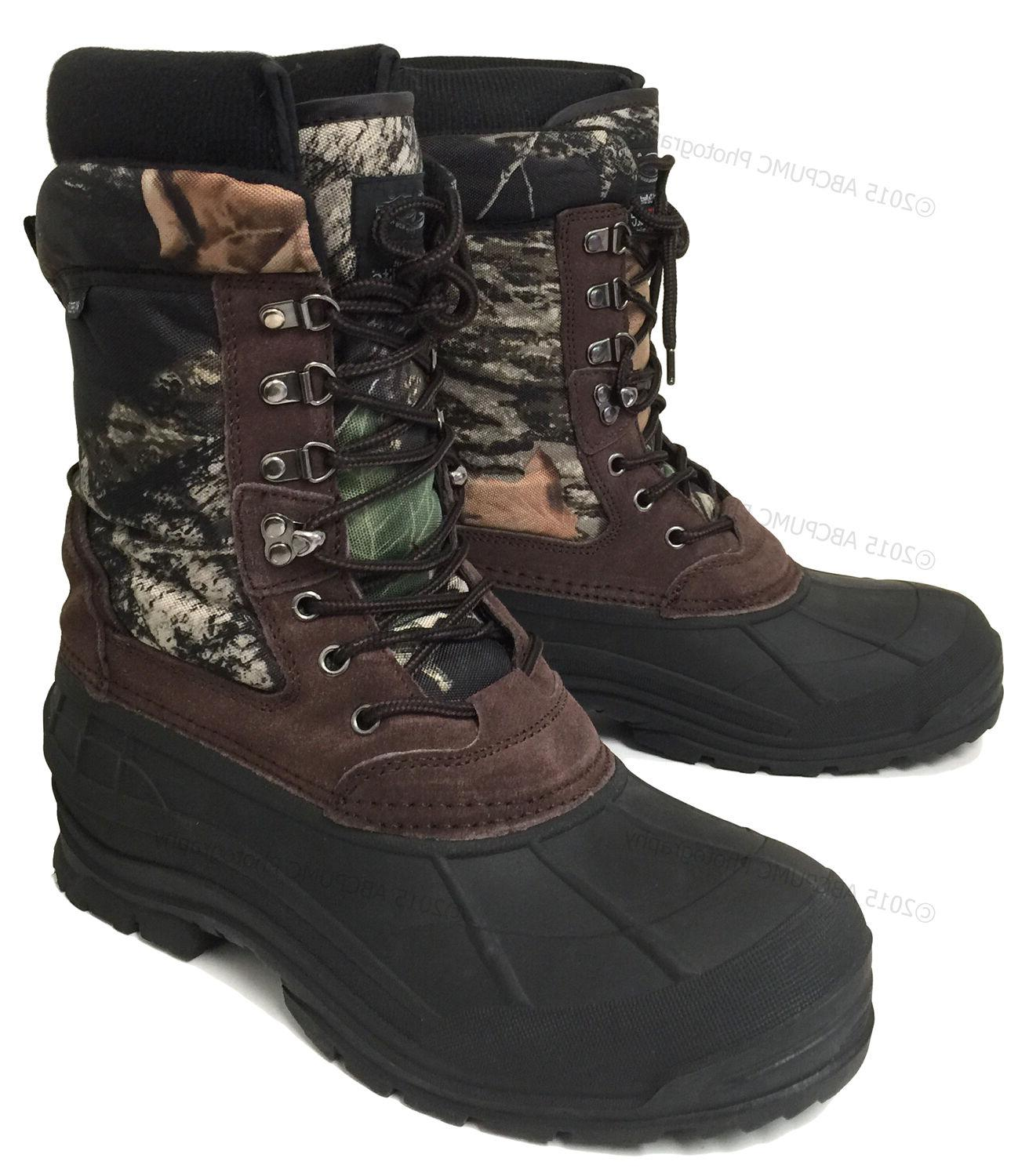 "New Winter Snow Boots 10"" Waterproof Hunting"