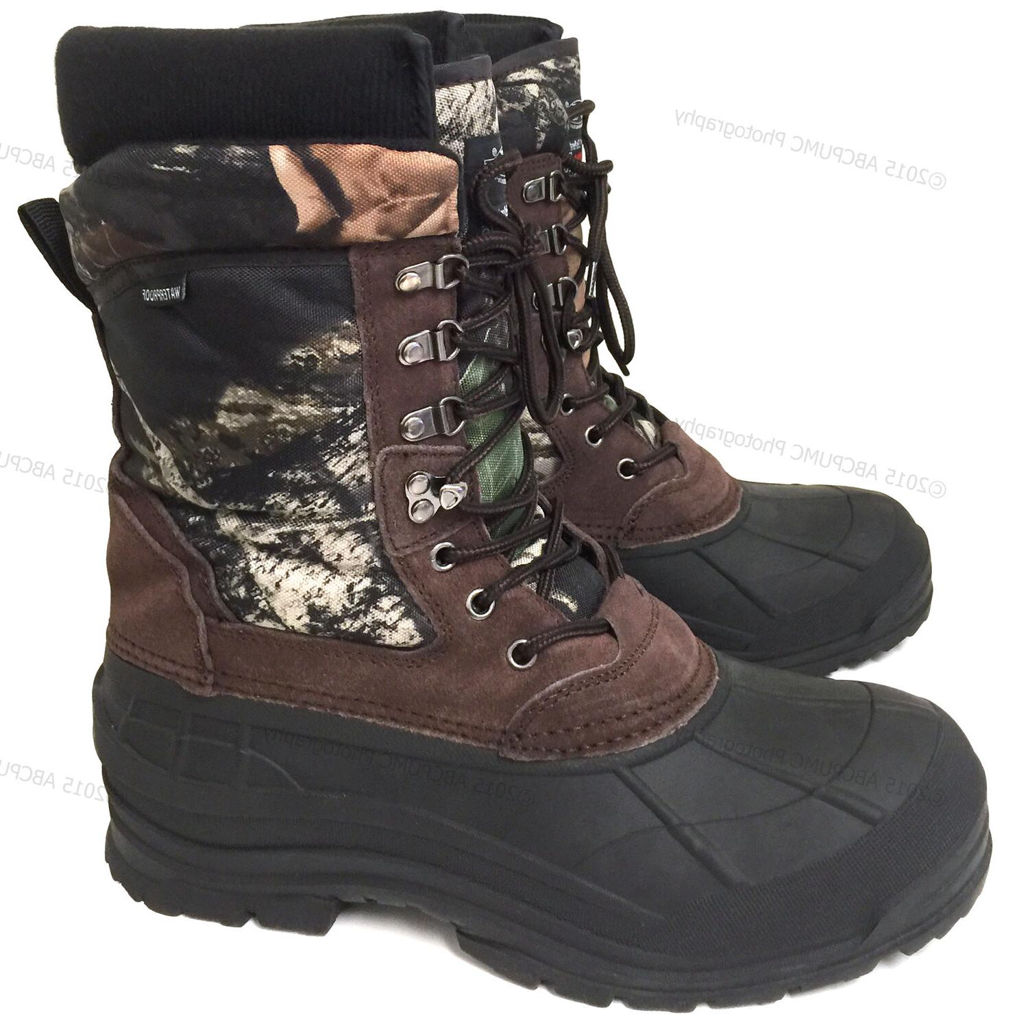 New Snow Boots Leather Waterproof
