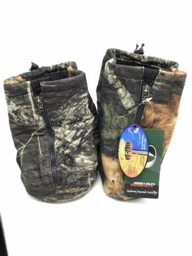NEW Shield Boot Insulators Mossy Camouflage Size Large