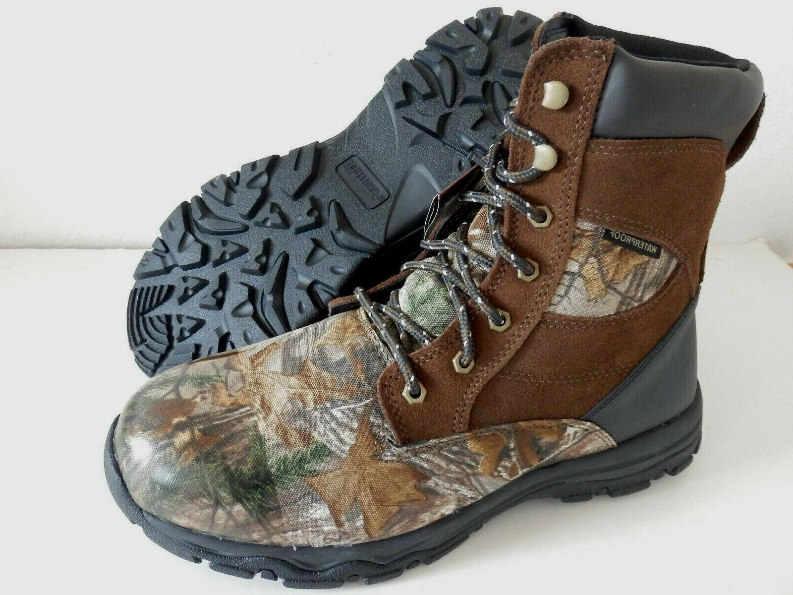 NEW Men's Hunting Camo Boots 800g Thinsulate 7.5-13