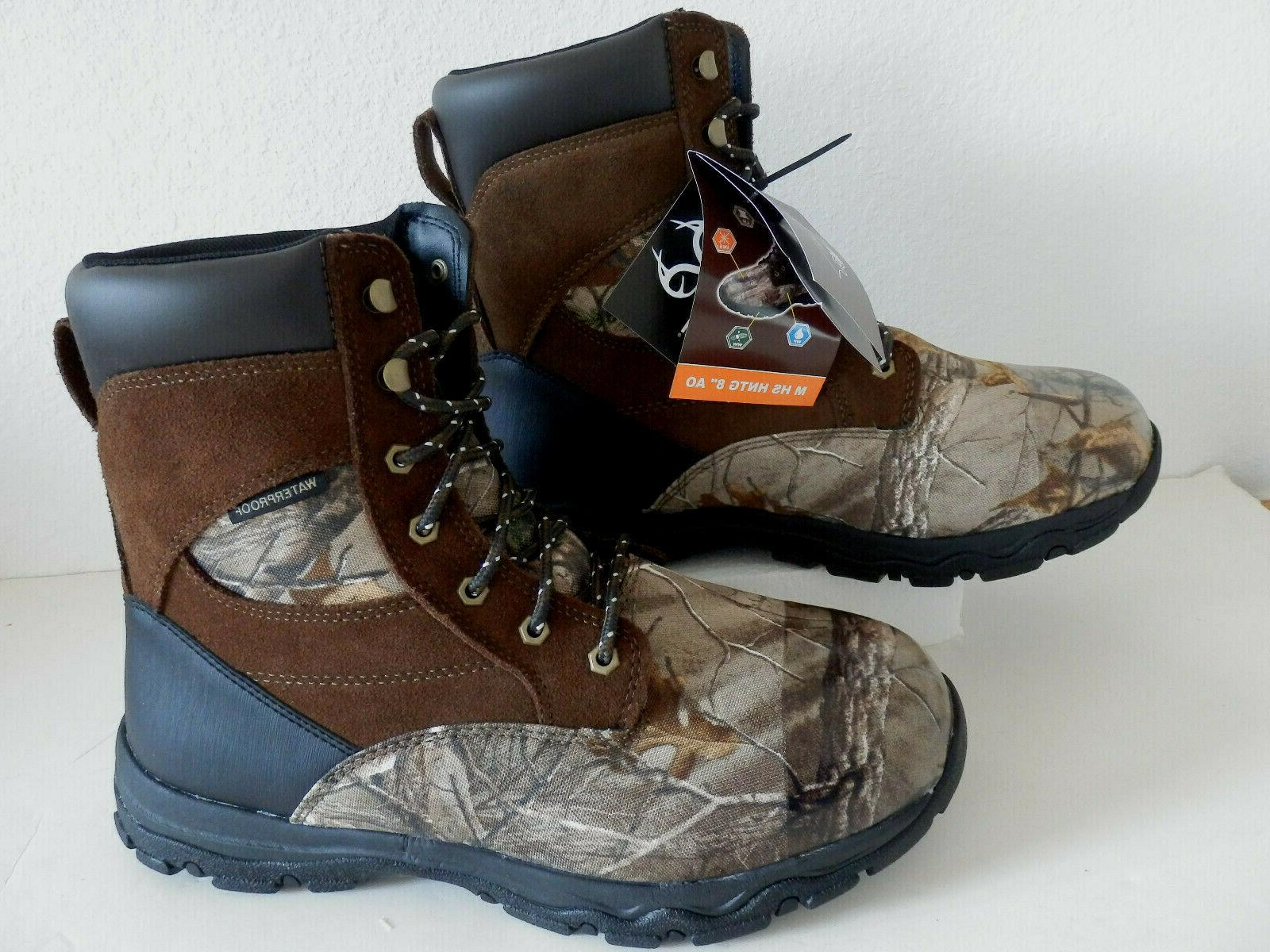 NEW Men's Hunting Boots 800g Thinsulate Sizes