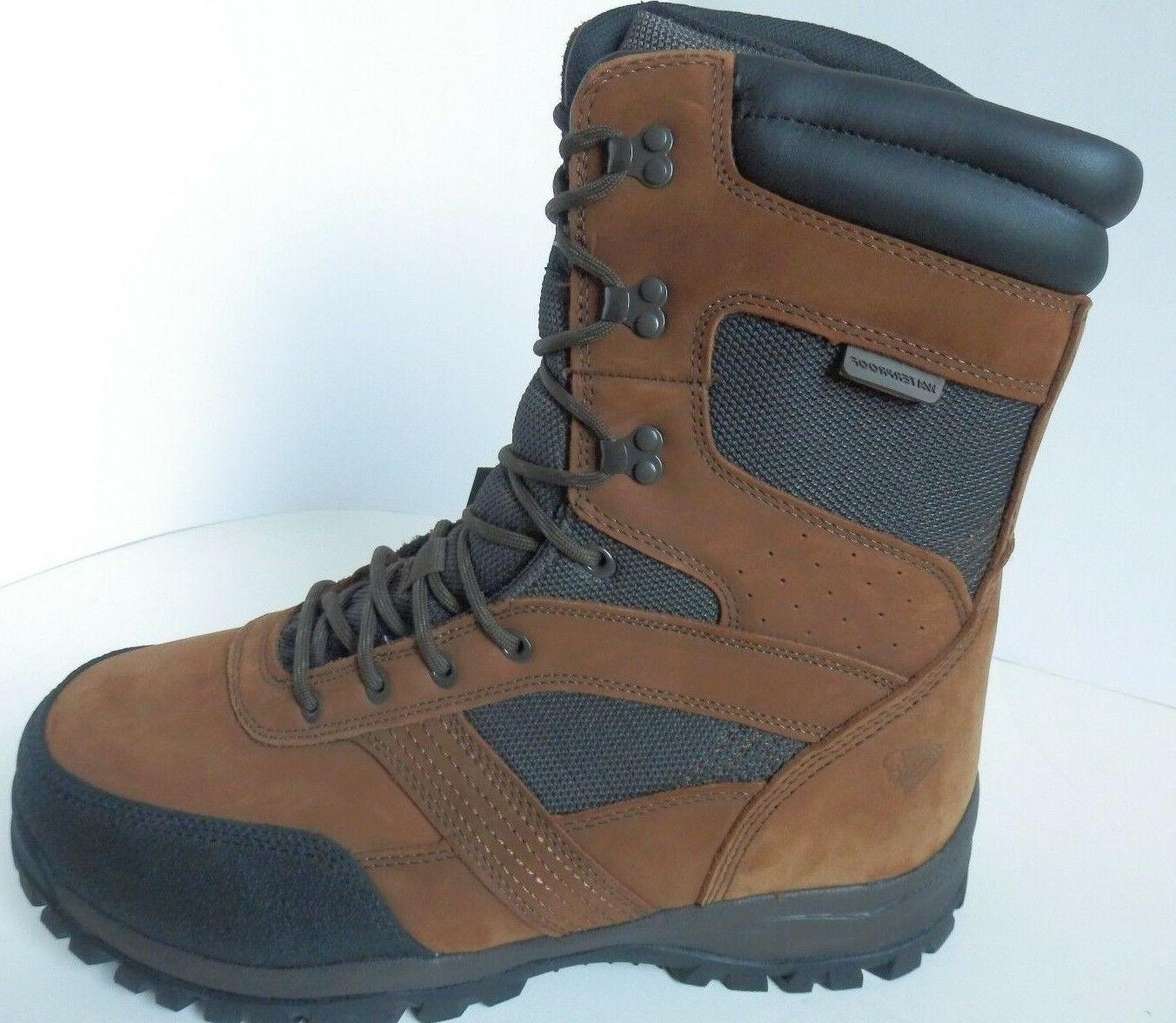 """New Herman Hunting 8"""" Leather Insulated Wide"""