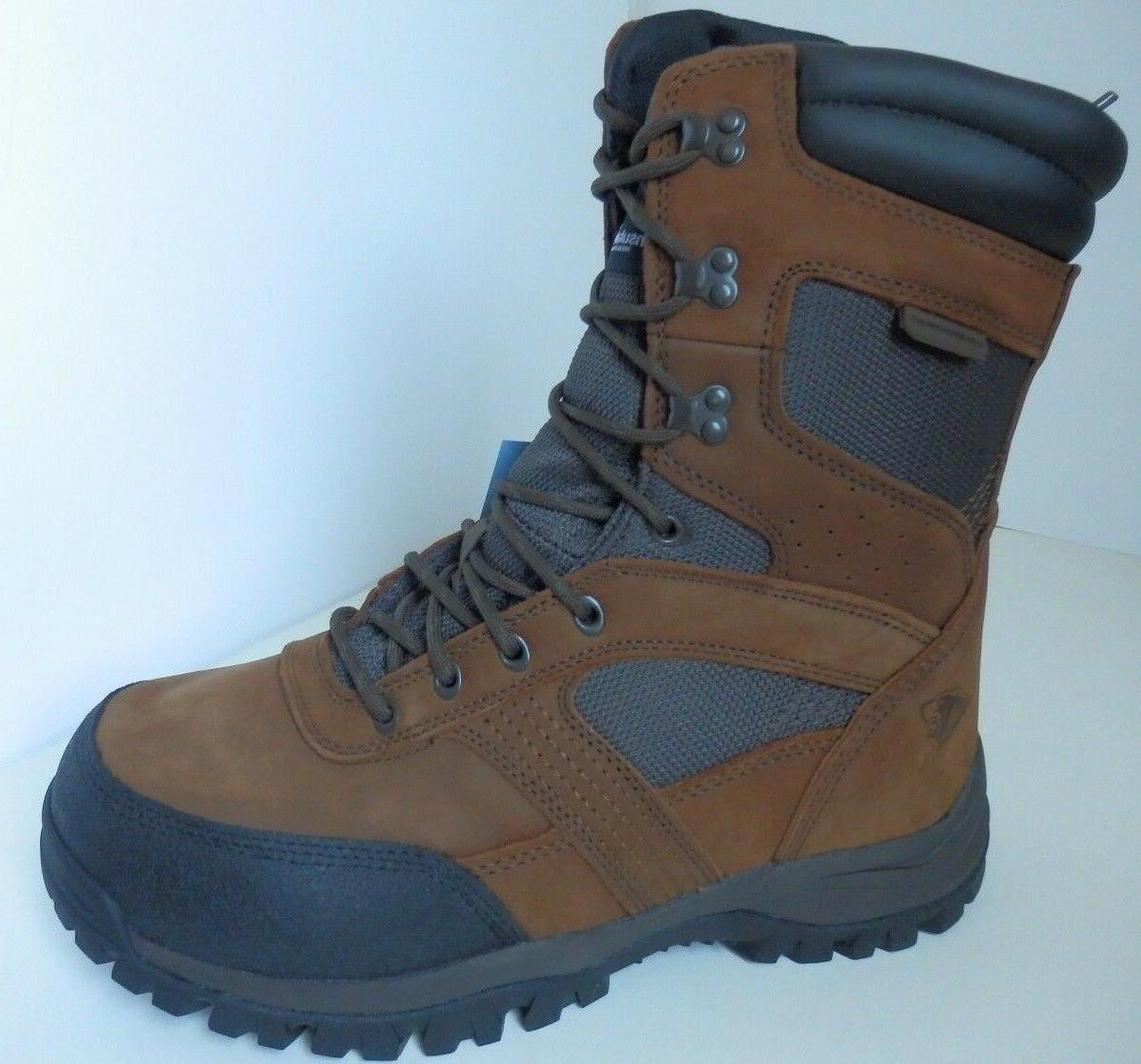 New MEN'S Hunting Leather Boots, Wide