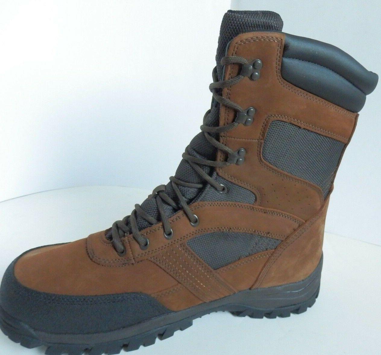 """New MEN'S Herman Hunting 8"""" AO Leather Insulated Extra Wide"""