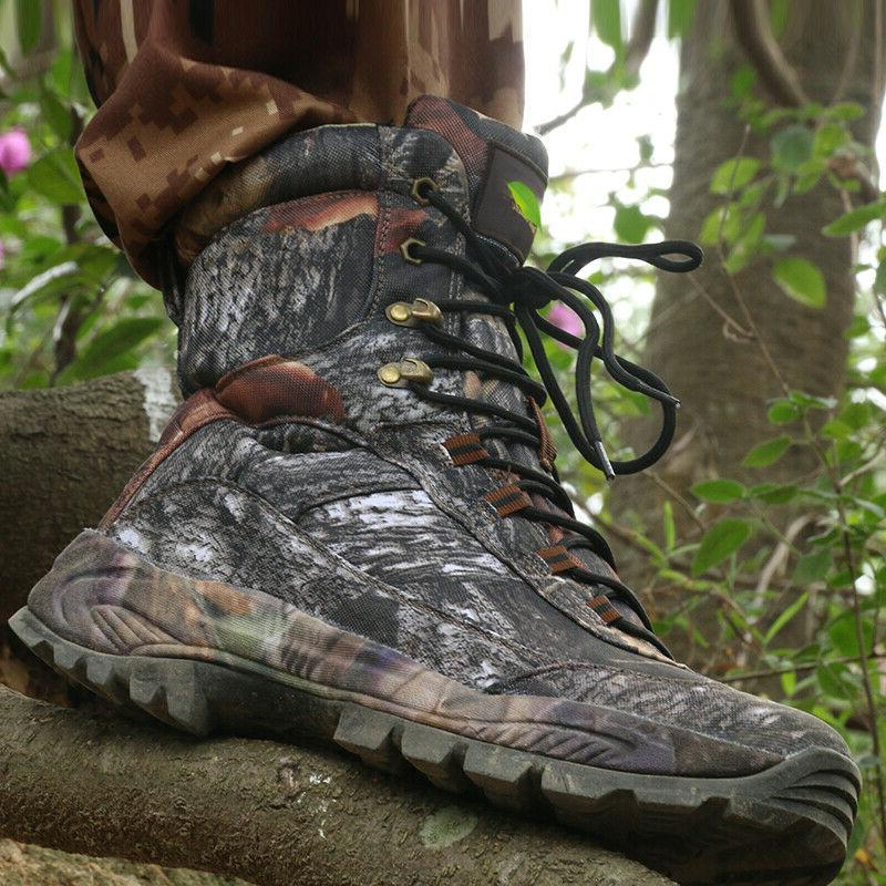 Outdoor Camouflage Tactical Boots Hiking