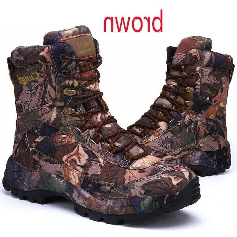 Tactical Boots Men Hiking Hunting