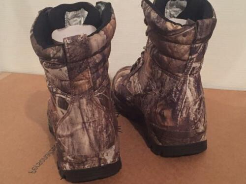 TideWe Camo Edge Hunting Boots Waterproof Men's 9M