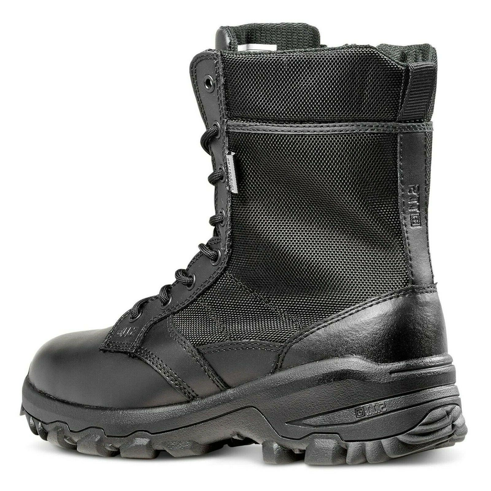 Size Tactical Side-Zip Black Boot Hunt