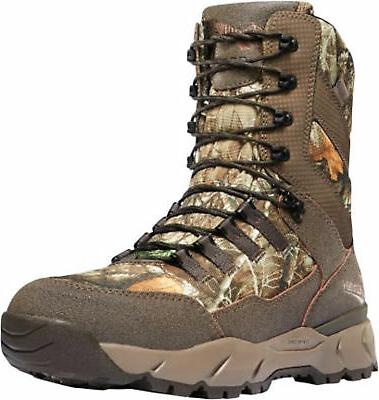 vital mens realtree edge leather 8in wp