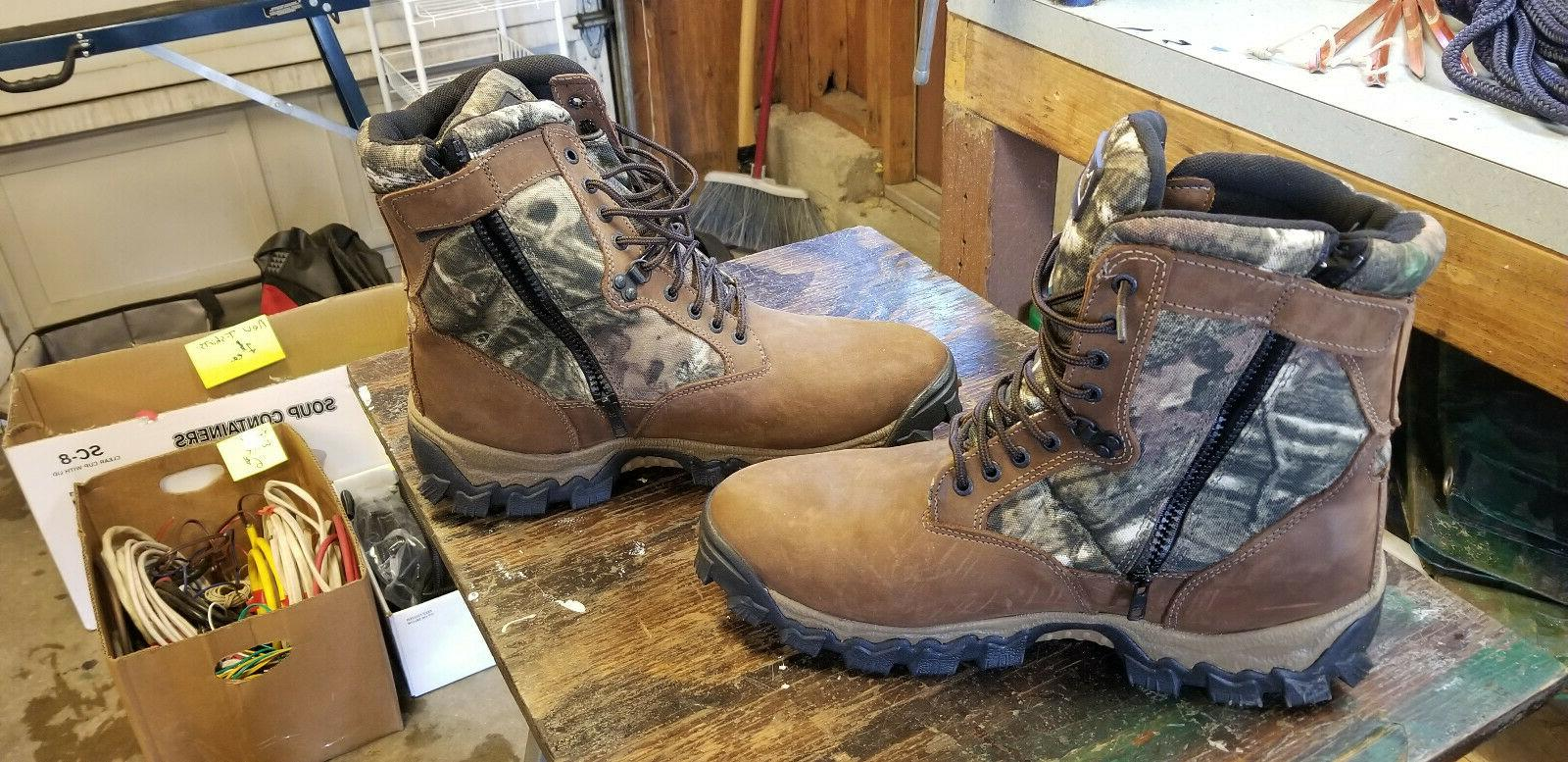Rocky Sidezip hunting Boots 13