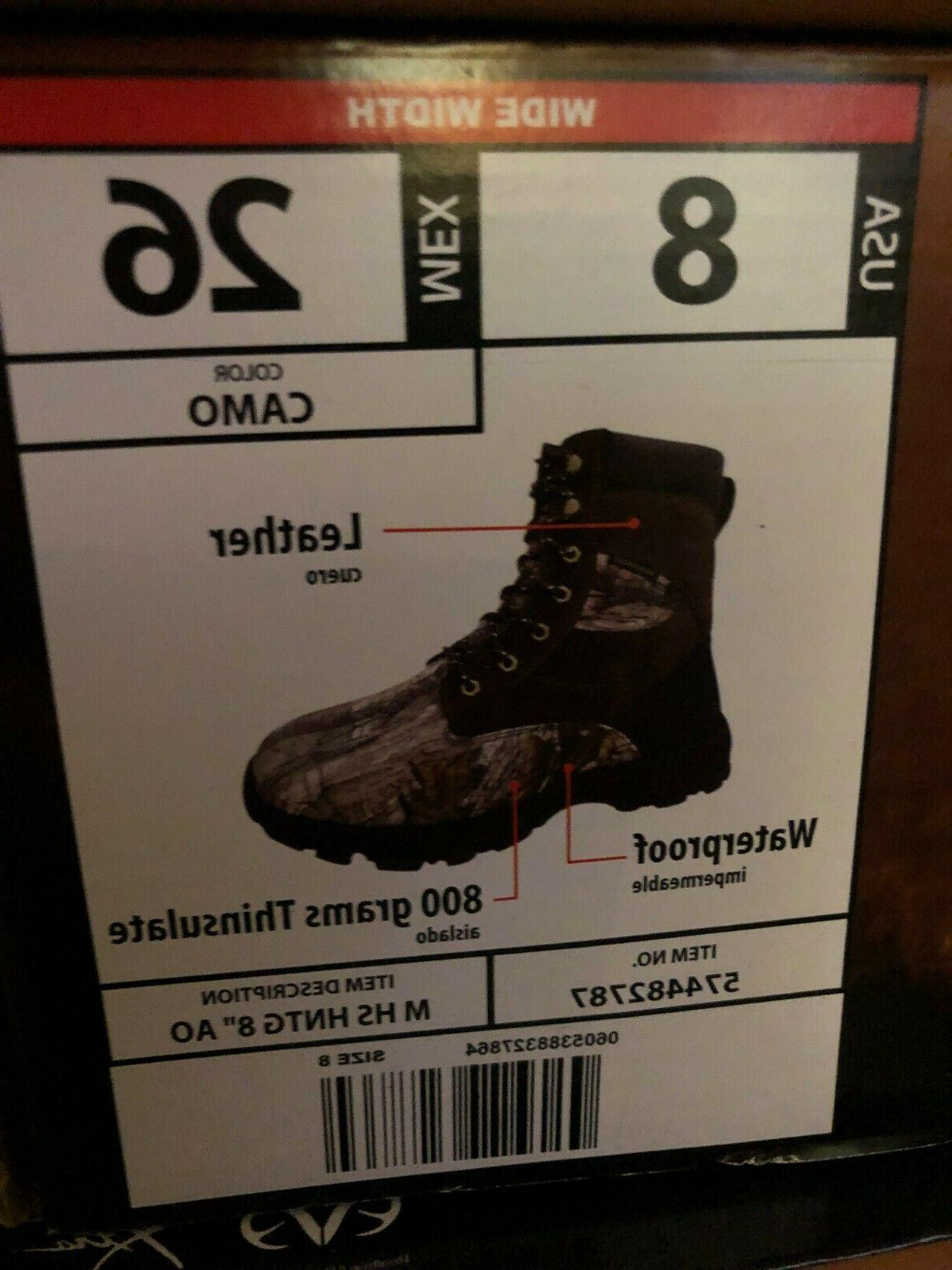 Herman Work Boots Camo thinsulate NW
