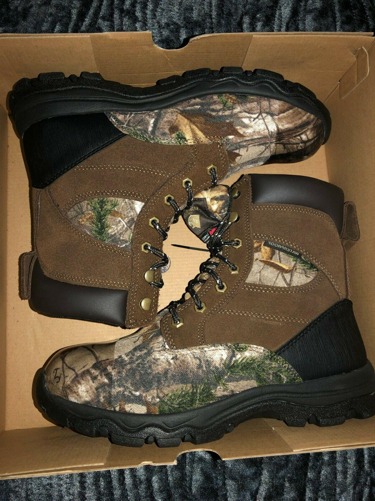Herman Survivors Work Boots Hiking thinsulate leather NW
