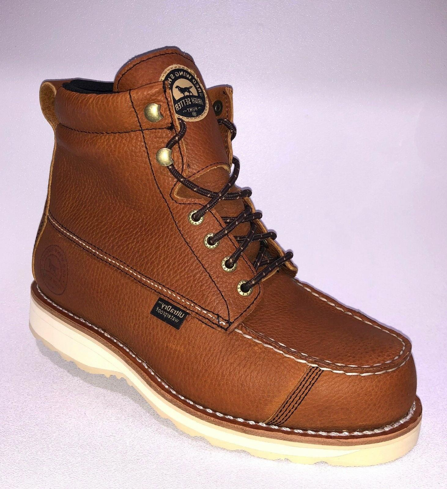 wingshooter 838 brown waterproof leather lace up