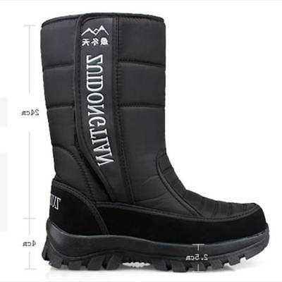 winter fur lined snow boots waterproof insulated