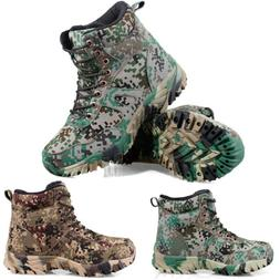 Men Hiking Hunting Fleeces camo Shoes Tactical Military Dese
