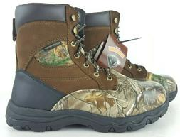 men s camo hunting boots waterproof leather