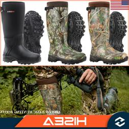 HISEA Men's Hunting Boots Insulated Waterproof Rain Snow Out