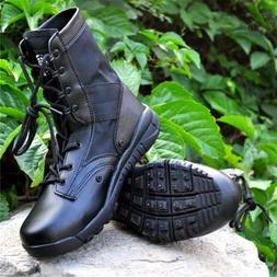 Men's Military Combat Boots Tactical Army Desert Hiking patr